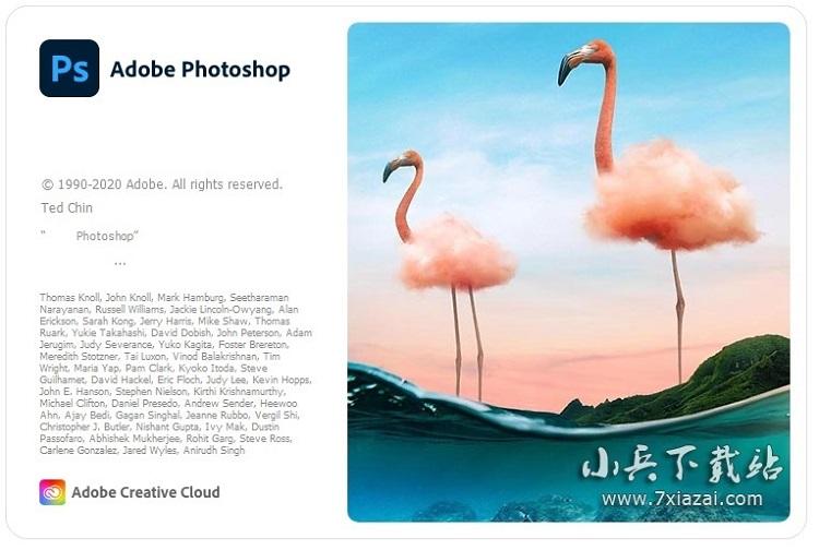 Adobe Photoshop 2021 v22.0.1.73 @vposy中文特别版64位 / 精简版